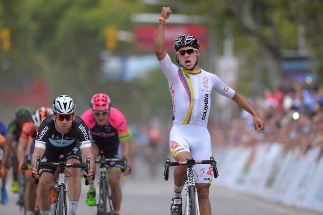 2ème victoire devant Cavendish !
